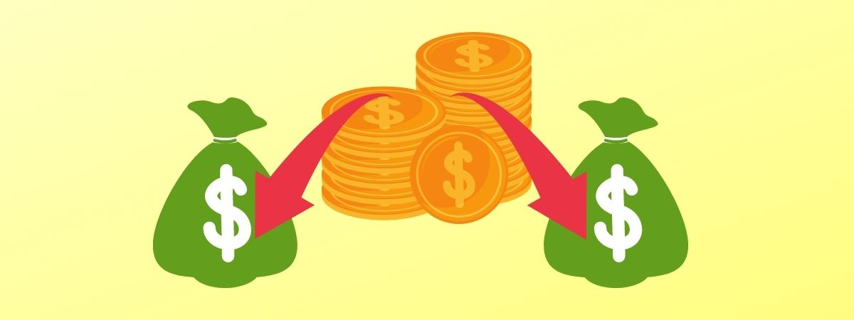FXではいっきに減らさないために資金を分けて考えること